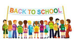 Back to School kids